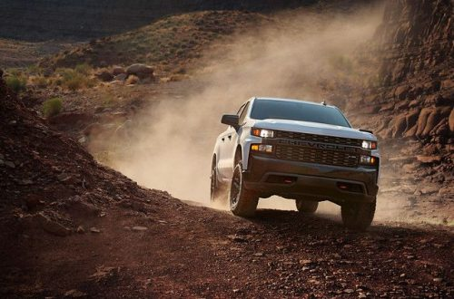 2019 Chevrolet Silverado 1500 Crew Cab Custom Trail Boss